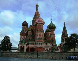 St Basil's Church, Moscow, Russia