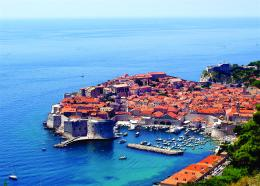 Panoramic view of Dubrovnik, Croatia