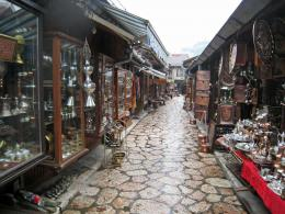 Turkish quarter in Sarajevo, Bosnia and Herzegovina